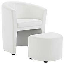 Divulge Armchair and Ottoman
