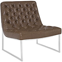 Ibiza Upholstered Vinyl Lounge Chair