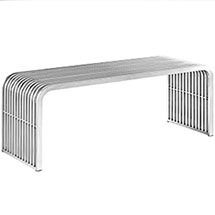Pipe Stainless Steel Bench