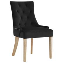 Pose Upholstered Fabric Dining Chair