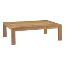Upland Outdoor Patio Wood Coffee Table