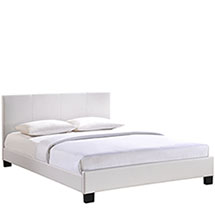 Alex Queen Vinyl Bed